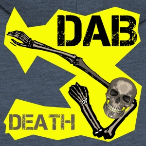 DAB DEATH YELLOW / Yellow dab of death - Men's Premium Hooded Jacket