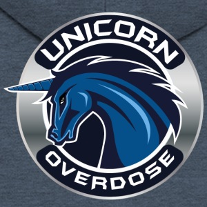 Unicorn Overdose # 2 - Men's Premium Hooded Jacket
