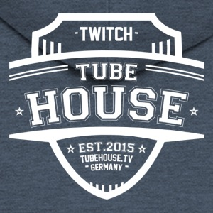 TubeHouse teamet College Merch 2017 Hvit - Premium Hettejakke for menn