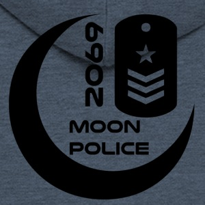 Moonpolice blak - Men's Premium Hooded Jacket