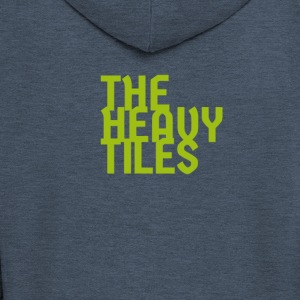 the heavy tiles green collection - Men's Premium Hooded Jacket