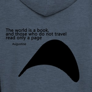 Travel_Quote_copy - Men's Premium Hooded Jacket