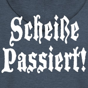 ScheiBe Passiert Shit Happens - Men's Premium Hooded Jacket