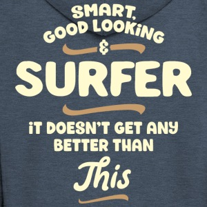 Smart, good looking and SURFER... - Männer Premium Kapuzenjacke