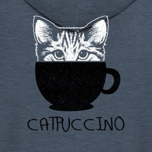 Catpuccino - Men's Premium Hooded Jacket
