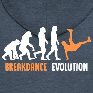 ++ ++ Breakdance Evolution - Rozpinana bluza męska z kapturem Premium
