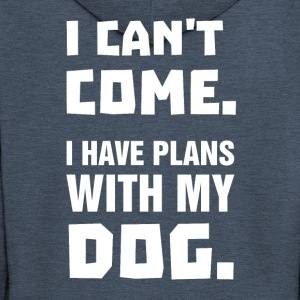 I Can't Come - I Have Plans With My Dog - Männer Premium Kapuzenjacke