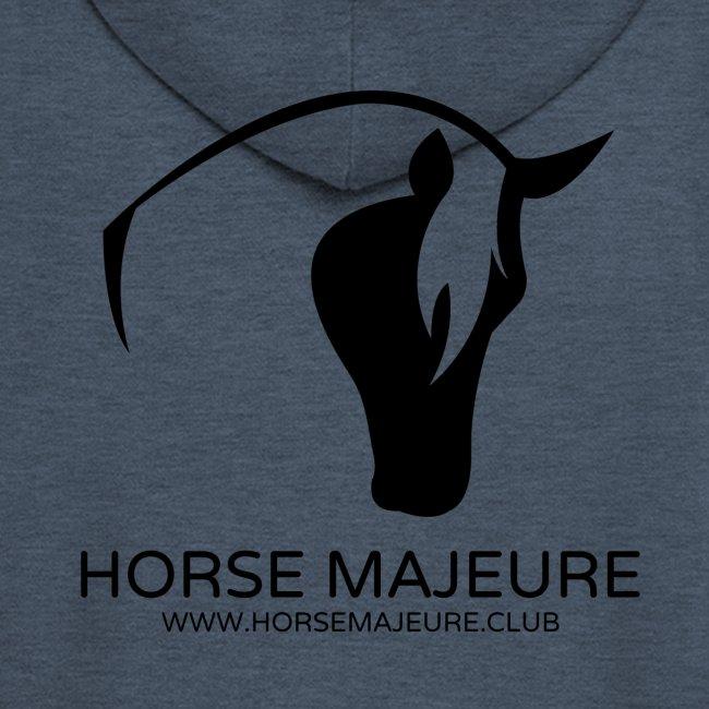 Horse Majeure Logo / Musta