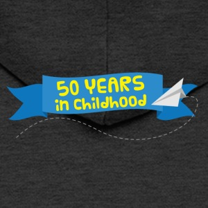 50th Anniversary: ​​50 Years in Childhood - Men's Premium Hooded Jacket