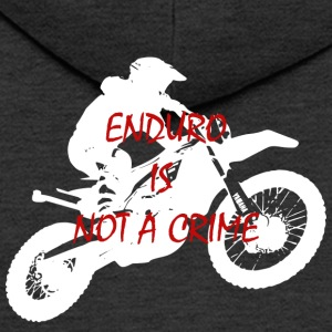 enduro is not a crime 2 - Männer Premium Kapuzenjacke