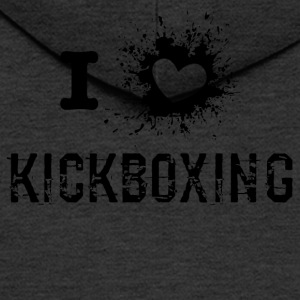iLove Kickboxing - Men's Premium Hooded Jacket