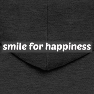 Smile for happiness - Men's Premium Hooded Jacket