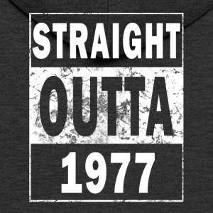 1977 - Straight Outta - Premium Hettejakke for menn