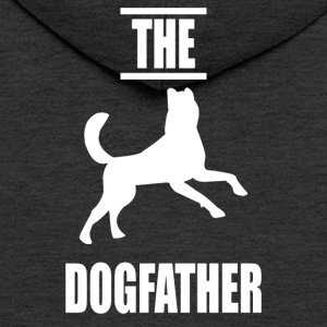 The dogfather v2 - Men's Premium Hooded Jacket