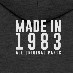 MADE IN 1983 - BIRTH YEAR - Men's Premium Hooded Jacket