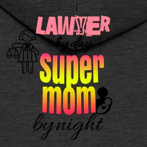 Lawyer by day super mom by night - Männer Premium Kapuzenjacke