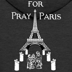 Pray for Paris - Men's Premium Hooded Jacket
