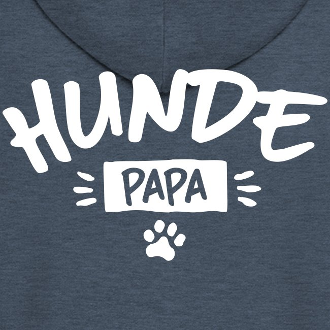Vorschau: Hunde Papa - Männer Premium Kapuzenjacke