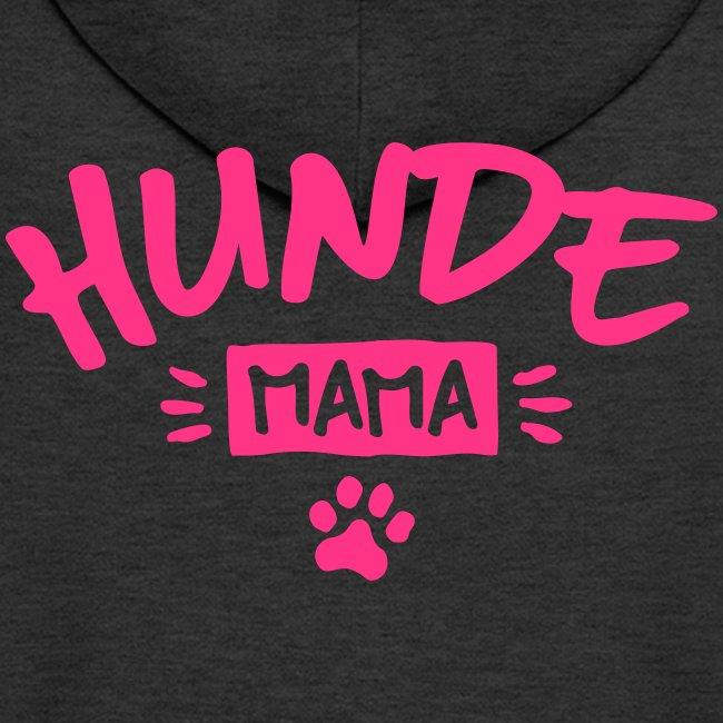 Vorschau: Hunde Mama - Männer Premium Kapuzenjacke