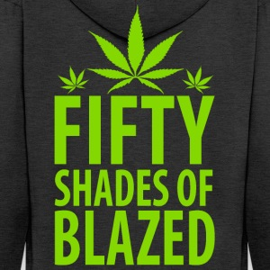 50 Shades Of Blazed - Men's Premium Hooded Jacket