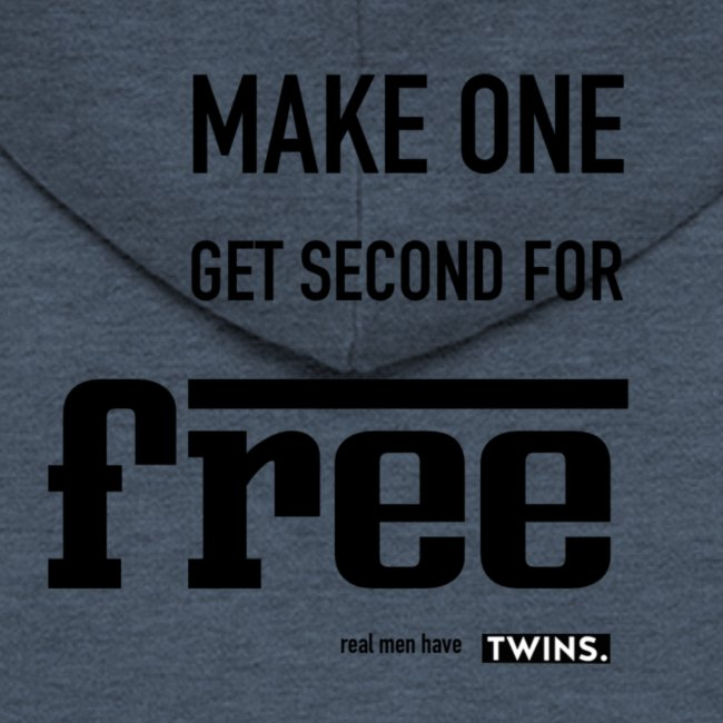 TWINS. make one get second for free