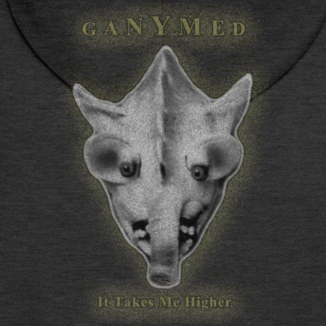 GANYMED Maske gold