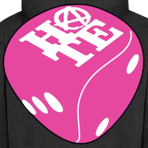 Pink - Men's Premium Hooded Jacket