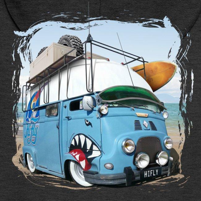 Estafette Van Surf sur la plage