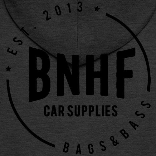 BNHF Original - Mannenjack Premium met capuchon