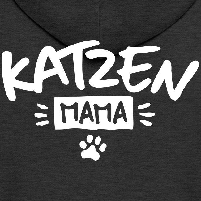 Vorschau: Katzen Mama - Männer Premium Kapuzenjacke