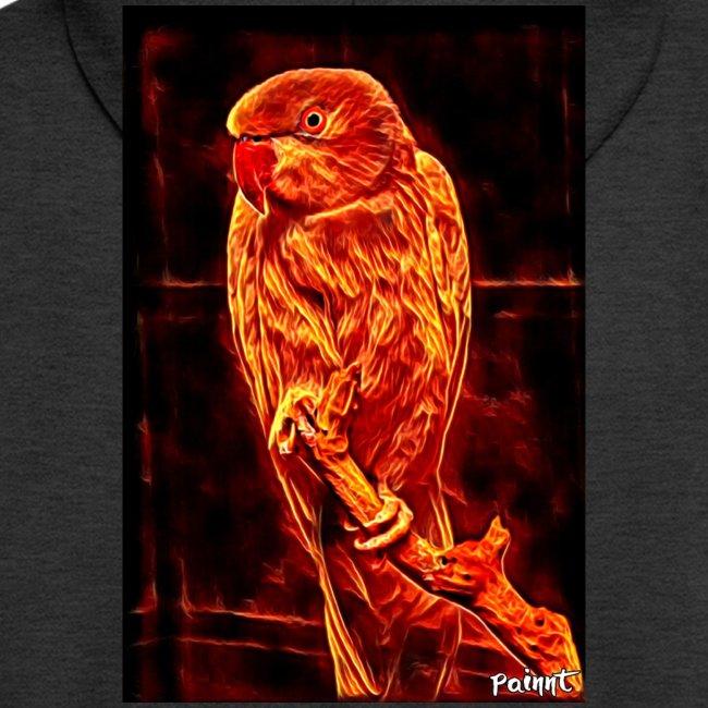 Bird in flames