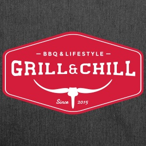 BBQ and Chill / BBQ and Lifestyle Origin Logo - Shoulder Bag made from recycled material
