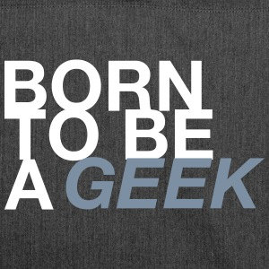 BORN GEEK - Shoulder Bag made from recycled material