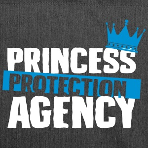 Princess Protection agency - fathers day - Shoulder Bag made from recycled material