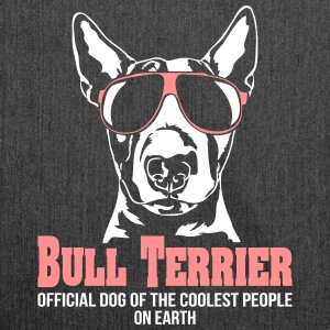 BULL TERRIER coolest people - Shoulder Bag made from recycled material