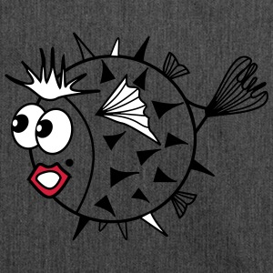 pufferfish - Shoulder Bag made from recycled material