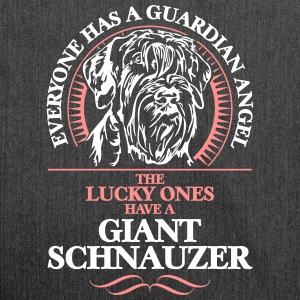 GUARDIAN ANGEL GIANT SCHNAUZER - Schultertasche aus Recycling-Material