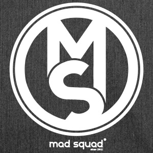 Squad Mad Man Fan T-shirt - Schoudertas van gerecycled materiaal