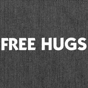 Free Hugs - Shoulder Bag made from recycled material