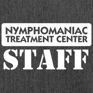 Nymphomaniacs Hospital: Staff - Shoulder Bag made from recycled material