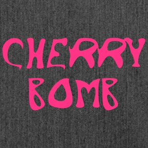 Cherry Bomb Graffiti - Schultertasche aus Recycling-Material