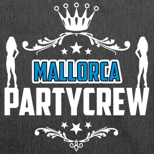 Party! Mallorca! Malle! Spring Break! - Axelväska av återvinningsmaterial