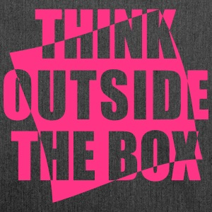 Think outside the BOX - Schultertasche aus Recycling-Material