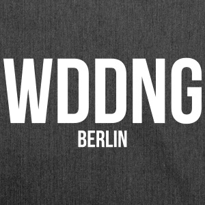 WEDDING BERLIN - Bandolera de material reciclado
