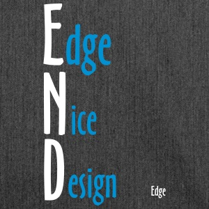 Edge_Nice_Design - Shoulder Bag made from recycled material