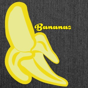 bananas - Shoulder Bag made from recycled material