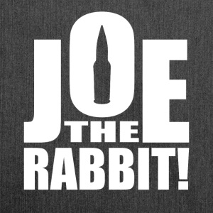 Joe The Rabbit! Logo - Shoulder Bag made from recycled material