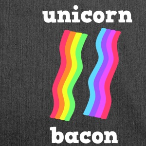 UNICORN BACON STRIPS - Schultertasche aus Recycling-Material