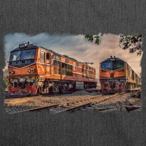 Thai locomotives - Shoulder Bag made from recycled material