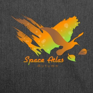 Space Atlas Long Shirt Tee Autumn Leaves - Shoulder Bag made from recycled material